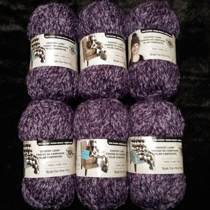 New Purple Yarn Project