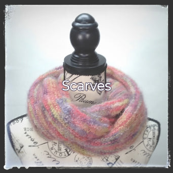 The Hand-Knit Creations Scarves Collection image.