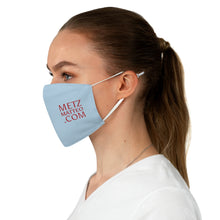 Load image into Gallery viewer, Metz & Matteo Dragonfly Sky Blue Fabric Face Mask