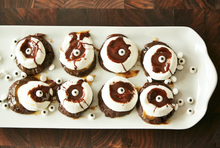 Load image into Gallery viewer, Chocolate Caramel S'more Cookie Monsters