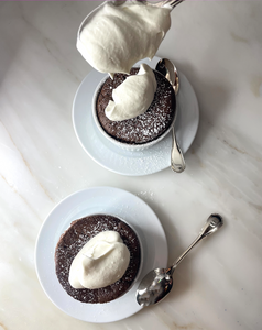 Chocolate Soufflés for 2