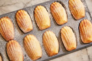 French Vanilla Bean Madeleines