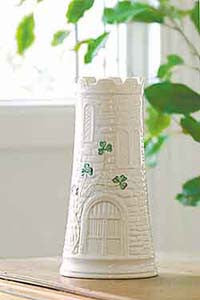 Belleek Castle Vase
