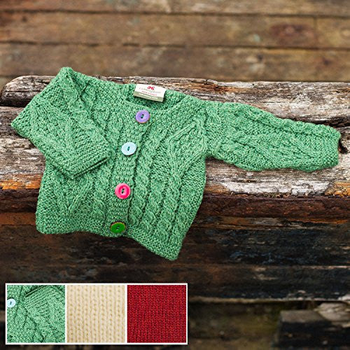 Baby colored button sweater