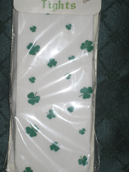 Kids Shamrock Tights