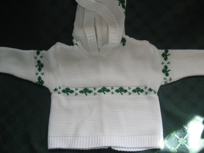 Baby Sweater with back zipper