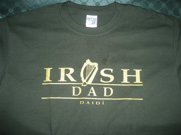 Irish Dad/Mom/Grandpa T-Shirt