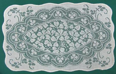Shamrock 4pc Lace Placemats