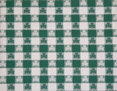 "Shamrock Tablecloth 60""x84"""