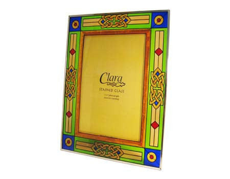 Royal Tara 5x7 Stained Glass Frame