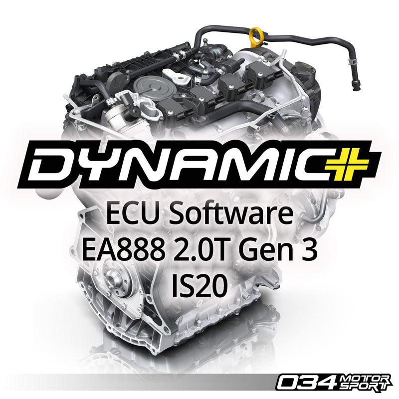 Dynamic+ ECU Software EA888 2.0T Gen3 IS20 - Stage 1