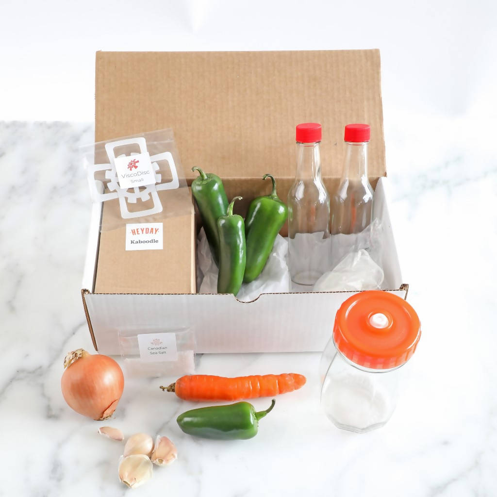*DIY* Pipin' Peppers Fermented Hot Sauce Kit