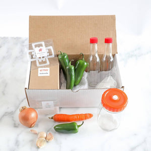 Pipin' Peppers Fermented Hot Sauce Kit