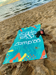 Camp Brand '88 Beach Towel