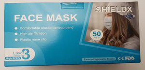 Face Mask 3 Layer - Non-Medical (SGS Inspected for 96% filtration)