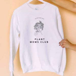 Plant Moms Club Sweater