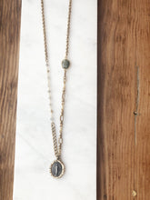 Load image into Gallery viewer, Labradorite Miraculous Medallion Necklace (4)