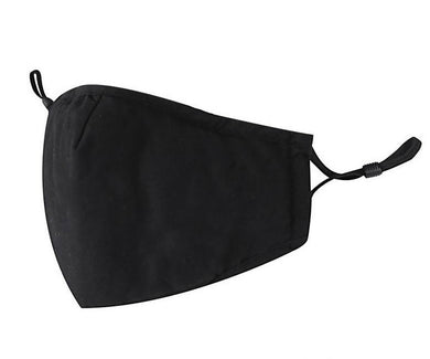 FABRIC FACE MASK (Black)