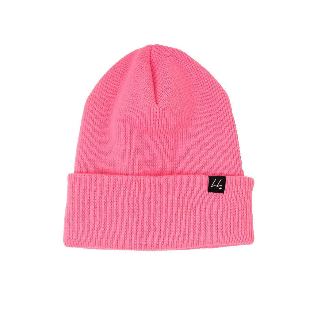 PREORDER - The Giving Toque - Buy One, Donate One To Someone In Need - Hot Pink