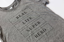 Load image into Gallery viewer, Children's Real Life Super Hero Tshirt