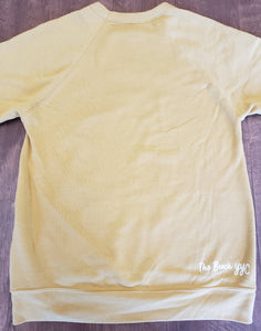 Yellow Crewneck - The Beach YYC