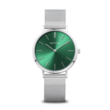 Load image into Gallery viewer, Bering Classic Round Dial Emerald Green Watch 14134-008