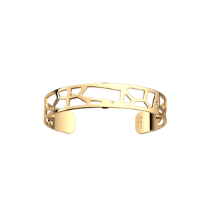 Les Georgettes Giraffe Bangle with a Gold Finish