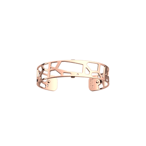 Les Georgettes Giraffe Bangle with a Rose Gold Finish