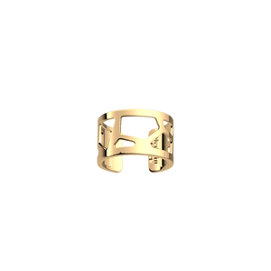 Les Georgettes Gold Plated Giraffe Ring