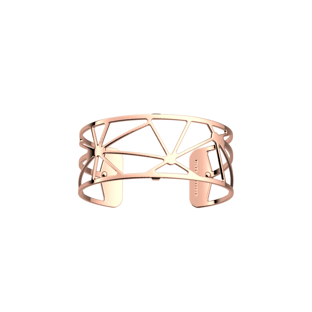 Les Georgettes Solaire Rose Gold Plated Bangle