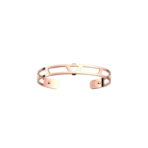 Les Georgettes Ibiza Bangle with a Rose Gold Finish