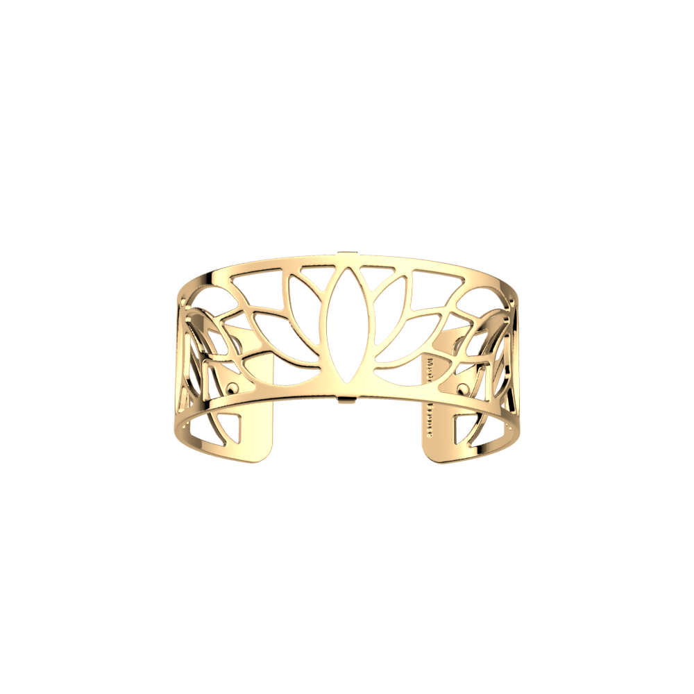 Les Georgettes Lotus Gold Plated Bangle