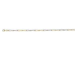 9ct Yellow & White Gold Savannah Bracelet