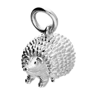 Sterling Silver Hedgehog Pendant