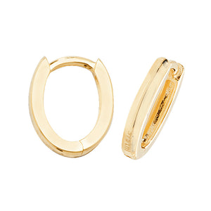 9ct Yellow Gold Hinged Hoops