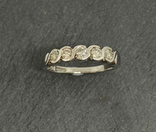 Load image into Gallery viewer, 9ct White Gold Diamond Eternity Ring 0.50ct