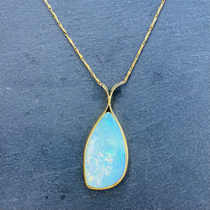 Natural Australian Opal Necklace