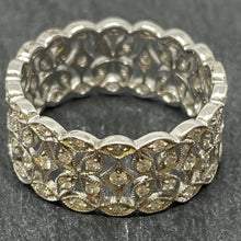 Load image into Gallery viewer, Art Deco Style Filigree Diamond Ring
