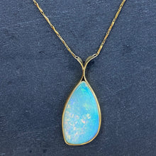Load image into Gallery viewer, Natural Australian Opal Necklace