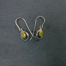 Load image into Gallery viewer, Sterling Silver And Rose Gold Plated Earings