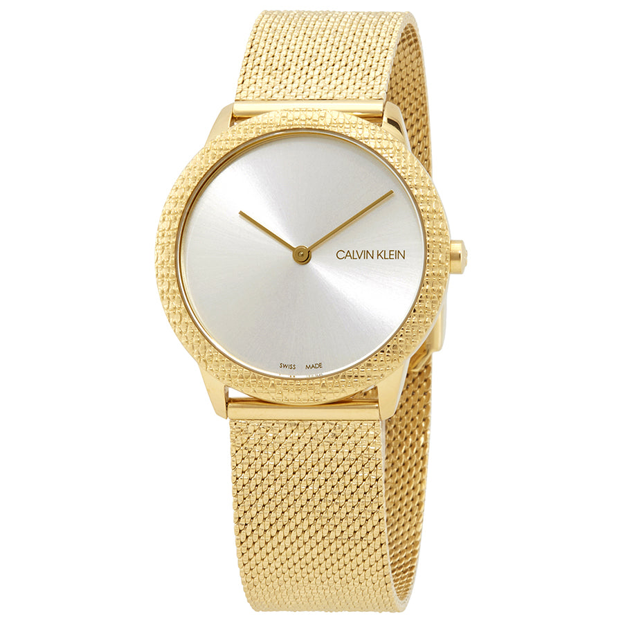 Calvin Klein Ladies Stainless Steel Watch With Gold Colouring
