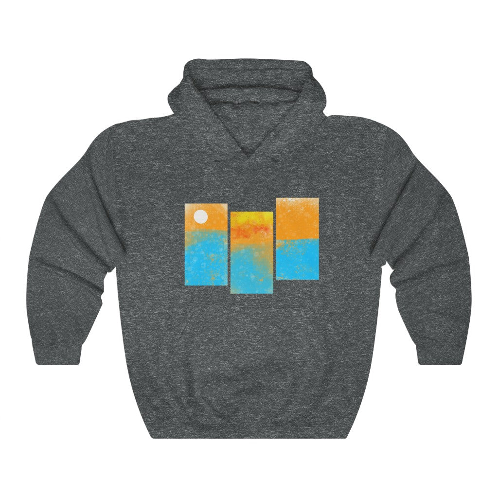 """Sunset Paneled"" Sweatshirt"