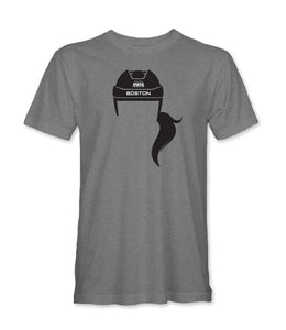Hockey Hair T-Shirt Unisex - Style 2