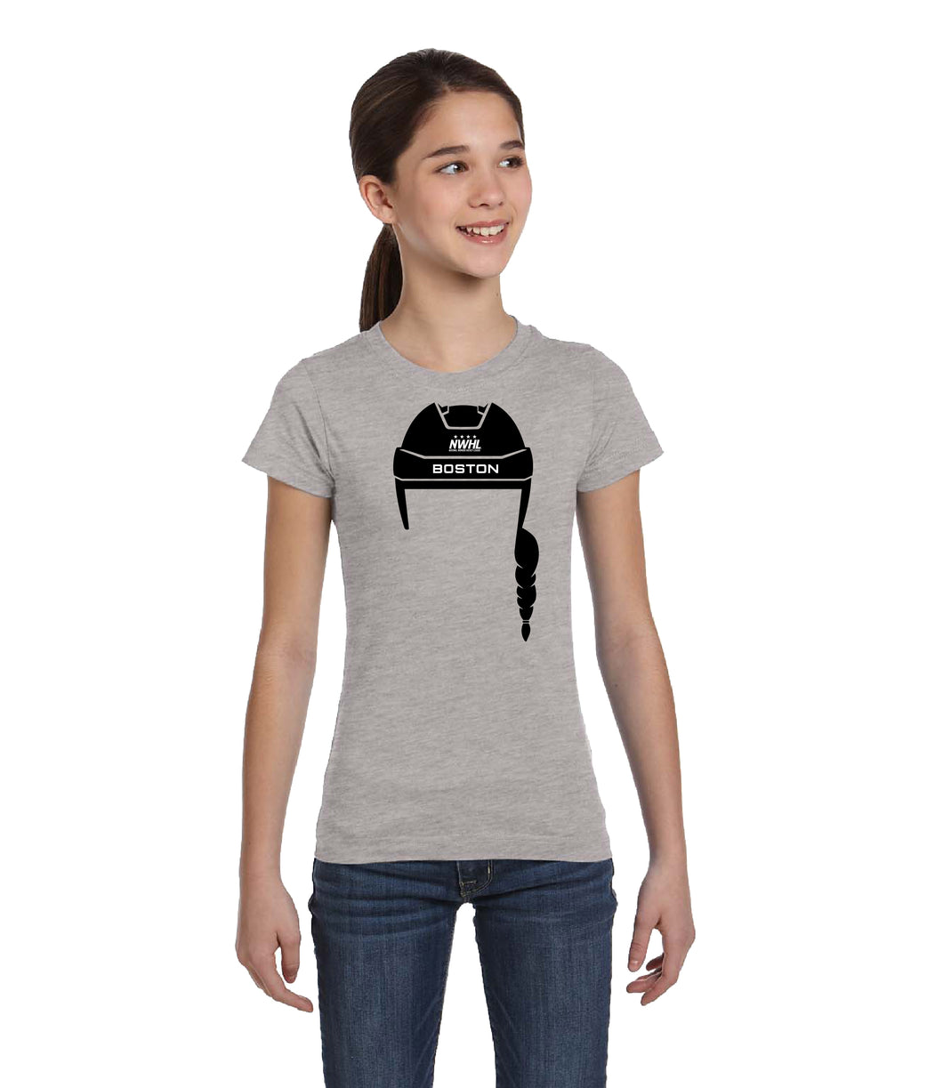 Hockey Hair T-Shirt Youth - Style 1