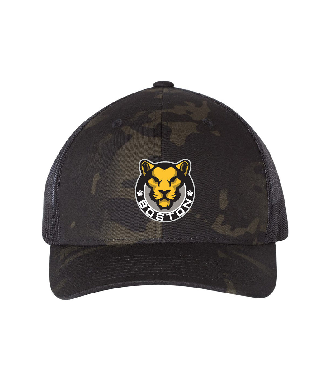 Multi Cam Hat Black