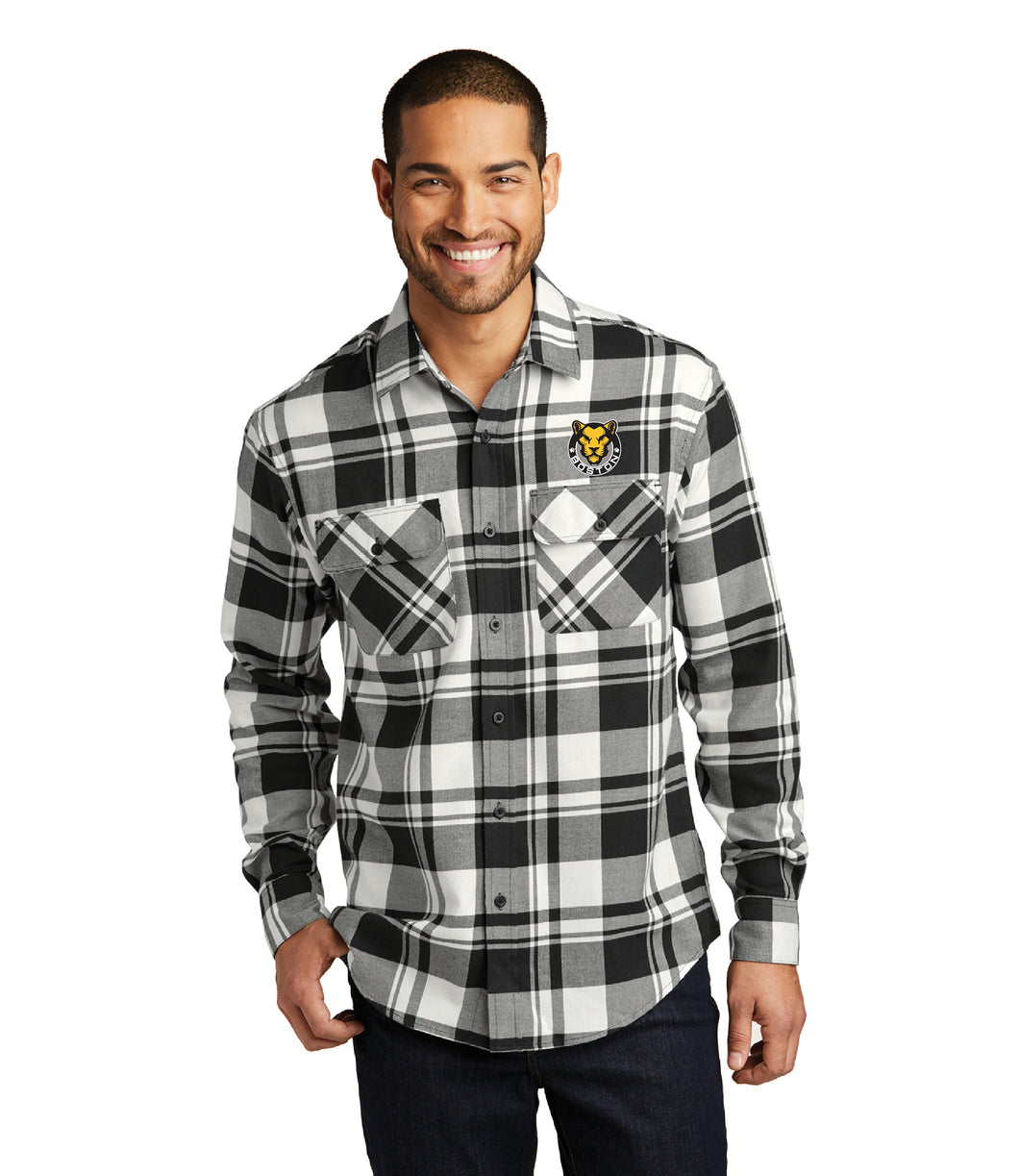 Boston Pride Flannel Mens