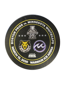 Isobel Cup Playoffs Official Puck