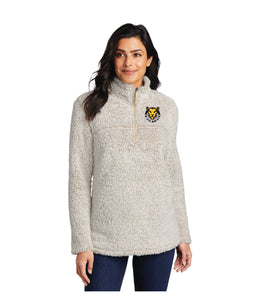 Ladies Cozy 1/4-Zip Fleece