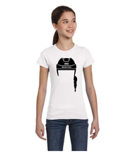 Load image into Gallery viewer, Hockey Hair T-Shirt Youth - Style 1