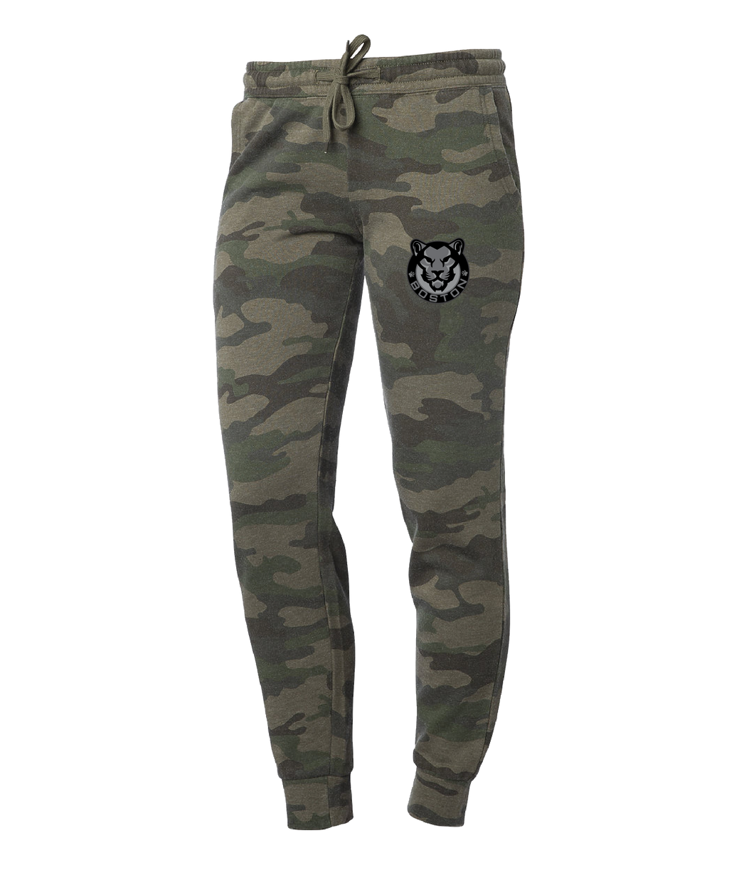 Camouflage Joggers - Womens
